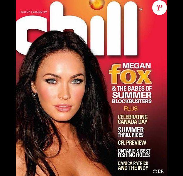 Megan Fox en couverture du magazine canadien Chill