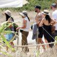 Cara Santana et son compagnon Jesse Metcalfe en vacances à Ibiza en Espagne, le 21 juillet 2019.