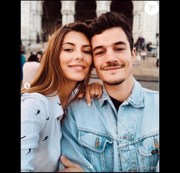Camille Cerf et son chéri Cyrill eRoty le 4 avril 2019.
