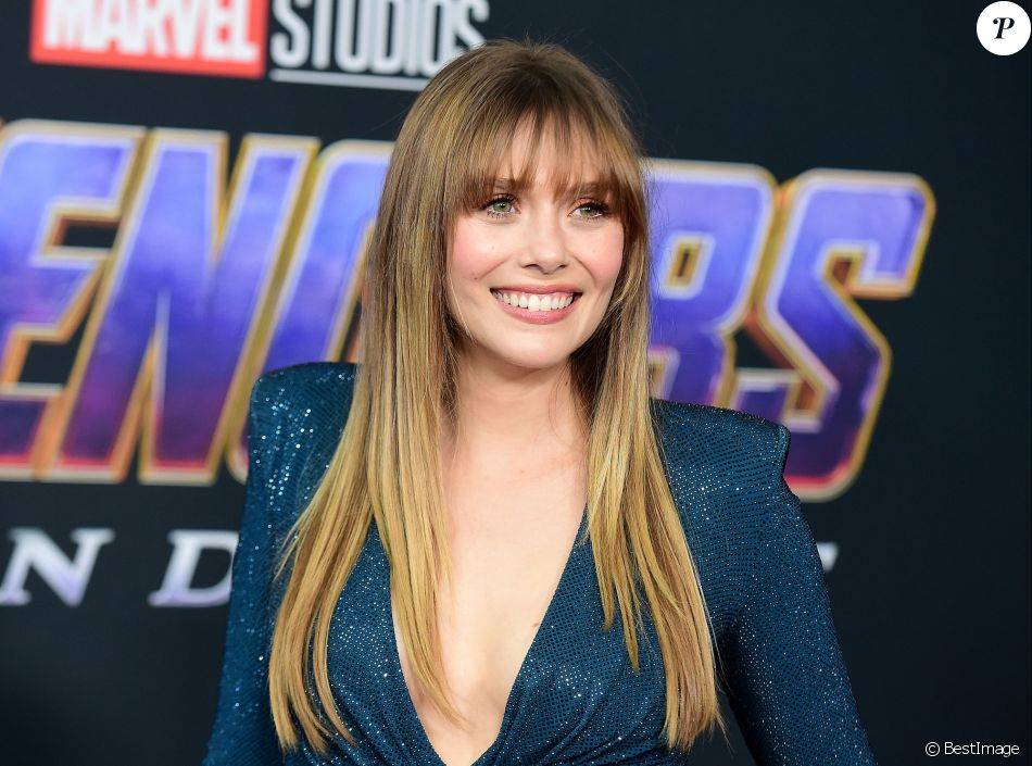 """Elizabeth Olsen - Avant-première du film """"Avengers : Endgame"""" à Los Angeles, le 22 avril 2019."""