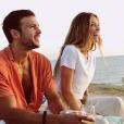 Caroline Receveur et son chéri Hugo Philip à Ibiza fin juillet 2019.