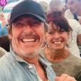 Jean-Luc Reichmann et Zette, le 27 juillet 2019.