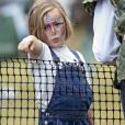 Mia Tindall lors du Festival of British Eventing à Gatcombe Park le 4 août 2019.