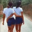 Iris Mittenaere et sa soeur Manon sur Instagram.