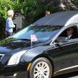 Obsèques de Saoirse Kennedy Hill, la petite fille de Robert F. Kennedy à l'église Our Lady of Victory Church à Barnstable dans le Massachusetts le 5 août 2019.