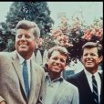 Image d'archives de John Fitzgerald, Robert et Edward Kennedy