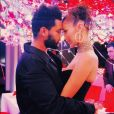 Bella Hadid et The Weeknd. Octobre 2018.
