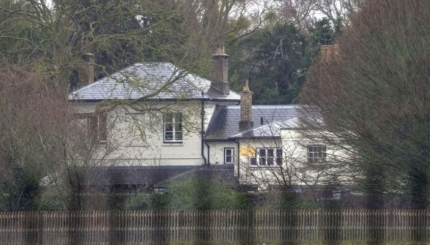 Frogmore Cottage, la nouvelle demeure du prince Harry duc de sussex et de sa femme Meghan Markle duchesse de sussex à Windsor en Angleterre, le 18 février 2019
