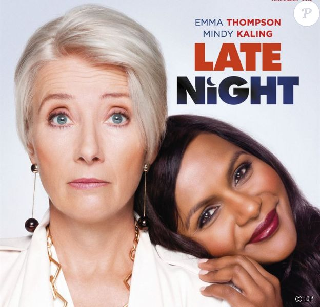 """Late Night"" avec Emma Thompson et Mindy Kaling, en salles le 21 août 2019."