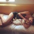 Simone, la seconde fille de Karin Viard sur Instagram, le 13 août 2019.