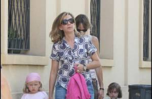 Cristina d'Espagne : une maman décontractée... même quand sa fille fait du boudin !