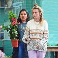 Exclusif - Cressida Bonas fait un passage chez le fleuriste à Londres le 11 juin 2019