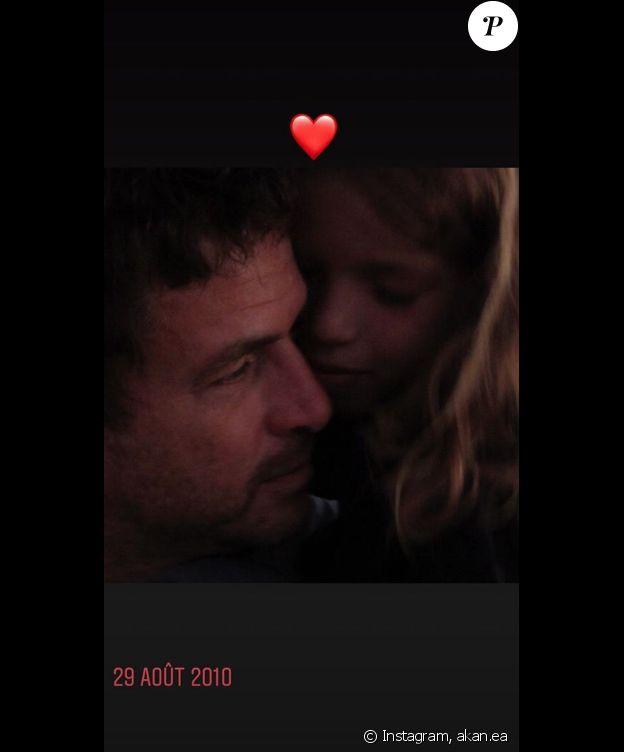 Angelica, fille de Philippe Zdar et Aure Atika, rend hommage à son père disparu, le 19 août 2019.