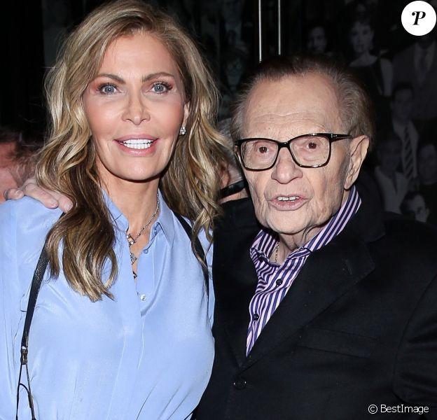 Exclusif - Larry King et sa femme Shawn - Larry King célèbre son anniversaire , 85 ans, au Catch à Los Angeles le 19 novembre 2018.