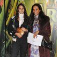 Karine Silla et sa fille Roxanne