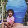 "Kiyara, la fille de Jessica de ""Secret Story 8"", sur Instagram, le 3 mars 2019"