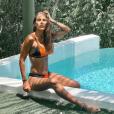 """Wafa de """"Koh-Lanta"""" divine en bikini au bord d'une piscine, le 9 août 2019, sur Instagram"""