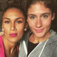 Wafa avec son amie Jesta, sur Instagram, le 20 octobre 2016