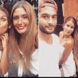 Wafa pose avec Jesta et Benoît, le 29 août 2016