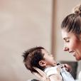 Jesta avec son fils Juliann, Instagram, le 21 août 2019