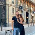 Wafa et Oliver en amoureux à Toulouse, le 5 juin 2019