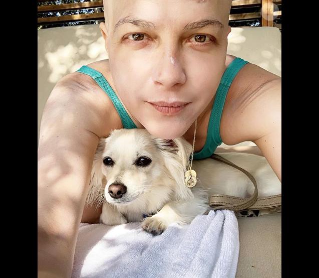 Selma Blair sur Instagram, le 19 août 2019.