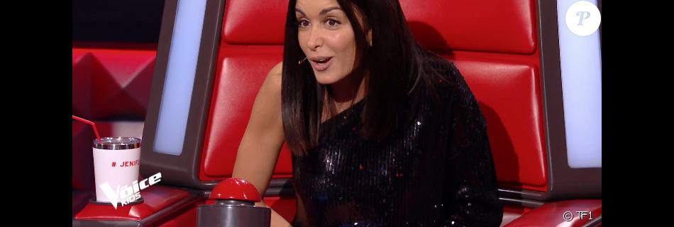 "Jenifer dans ""The Voice Kids 6"" vendredi 23 août 2019 sur TF1."