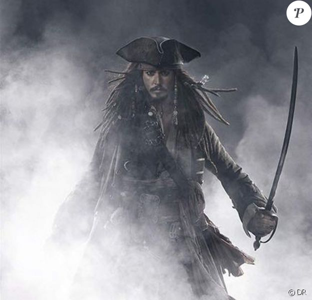 Johnny Depp est Jack Sparrow