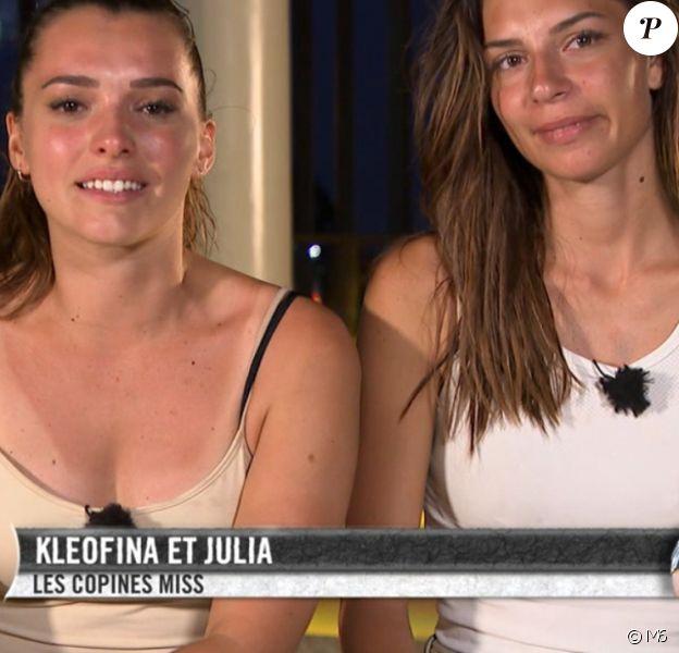 """Kleofina et Julia dans """"Pékin Express 2019"""", le 5 septembre 2019 sur M6."""