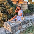Marine Lorphelin en Grèce, photo Instagram du 29 août 2019