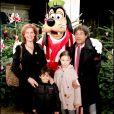 Laurent Voulzy et sa femme le 18 novembre 2006 à Disneyland Paris.