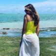 Sofia Vergara et des amis en vacances dans les Caraïbes. Août 2019.