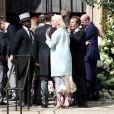 Katy Perry au mariage de la chanteuse Ellie Goulding et de son compagnon Caspar Jopling le 31 août à York Minster, la cathédrale d'York, dans le nord de l'Angleterre.