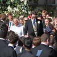 Mariage de la chanteuse Ellie Goulding et de son compagnon Caspar Jopling le 31 août à York Minster, la cathédrale d'York, dans le nord de l'Angleterre.