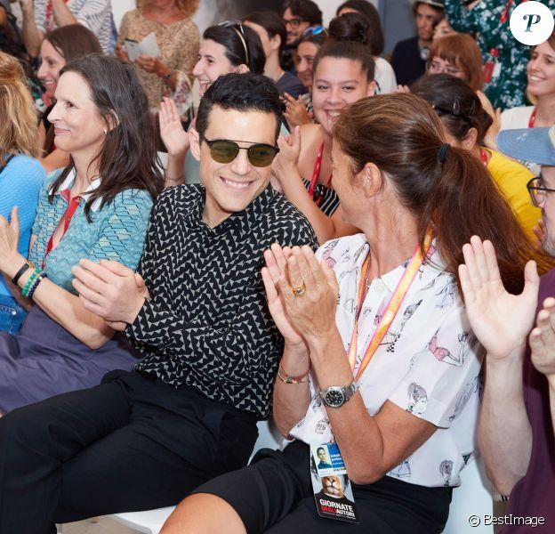 Rami Malek lors de la 76e Mostra de Venise, Festival International du Film de Venise, le 3 septembre 2019.
