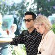 Rami Malek et sa compagne Lucy Boynton - Arrivées au Lido lors de la 76e Mostra de Venise, Festival International du Film de Venise, le 3 septembre 2019.