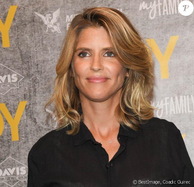 """Alice Taglioni (enceinte) - Avant-première du film """"Andy"""" au cinéma Elysées Biarritz à Paris le 3 septembre 2019. © Coadic Guirec/Bestimage"""