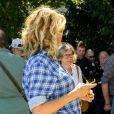 """Alice Taglioni pour le film """"Je voudrais que quelqu'un m'attende quelque part"""" lors de la 12e édition du festival du Film Francophone d'Angoulême, France, le 24 août 2019. © Coadic Guirec/Bestimage"""