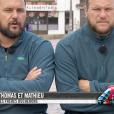 """Thomas et Mathieu - """"Pékin Express 2019"""" sur M6, le 12 septembre 2019."""