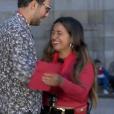 """Mounir et Lydia - """"Pékin Express 2019"""" sur M6, le 12 septembre 2019."""