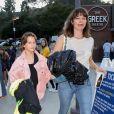 Milla Jovovich et sa fille Ever sont allées assister au concert de B. Eilish au Greek Theater à Los Angeles, le 11 juillet 2019
