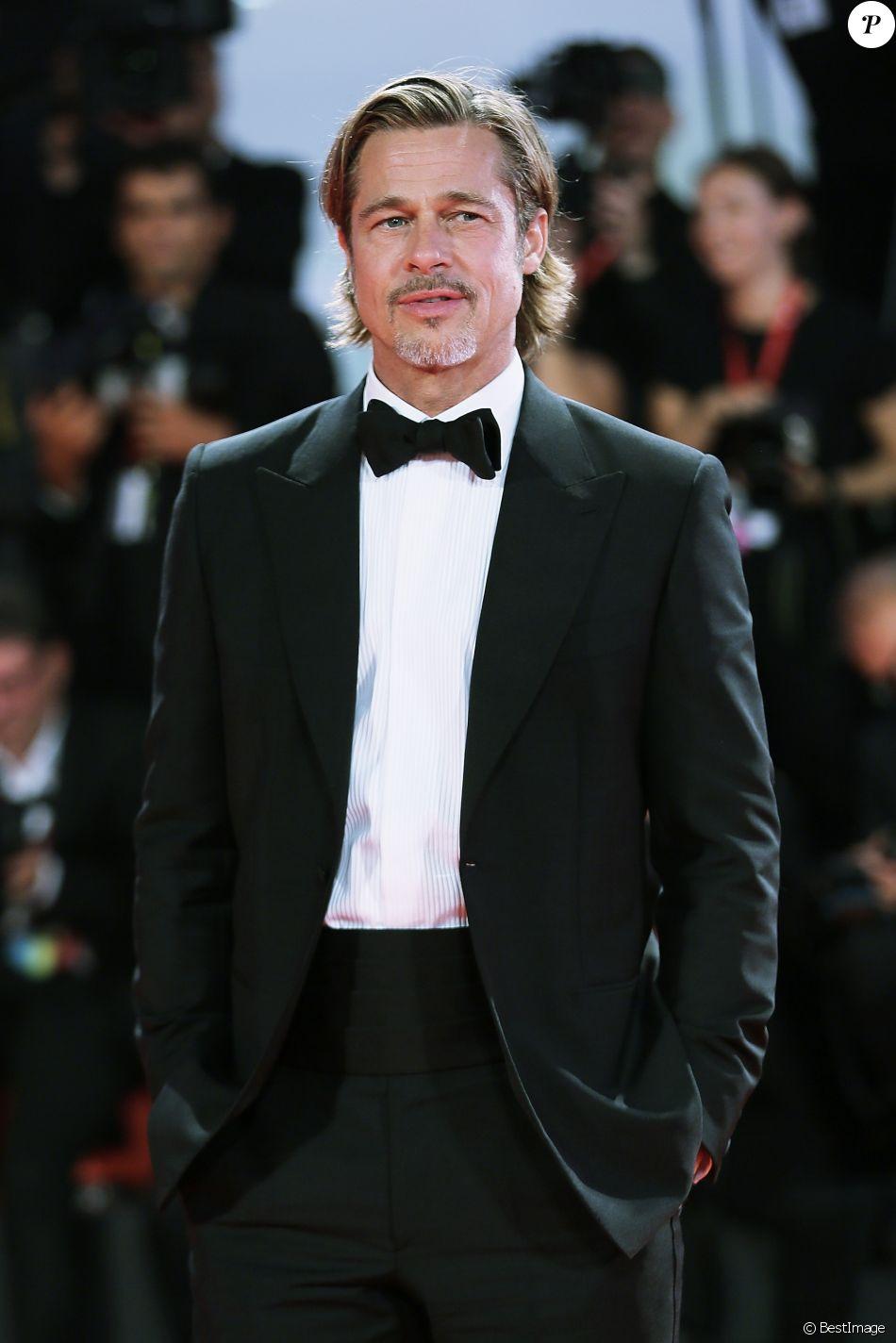 """Brad Pitt - Red carpet du film """"Ad Astra"""" lors du 76e festival du film de Venise, la Mostra le 29 août 2019. © Mark Cape / Panoramic / Bestimage"""