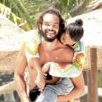 Lais Ribeiro et son compagnon Joakim Noah passent des vacances romantiques sur la plage de Tulum au Mexique, le 2 juin 2019.