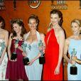 """L'équipe de """"Desperate Housewives"""" - 11e """"Screen Actors Guild Awards. Los Angeles. Le 5 février 2005."""