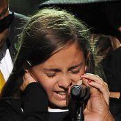 Paris Jackson, l'unique fille de Michael, un magnifique et poignant hommage à son papa... Regardez !