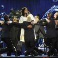 Superbe performance de Jennifer Hudson hier au Staples Center