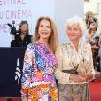 Cyrielle Claire et Anne d'Ornano - Red carpet de la soirée de clôture du 45ème Festival du Cinéma Américain de Deauville. Le 14 septembre 2019 © Denis Guignebourg / Bestimage