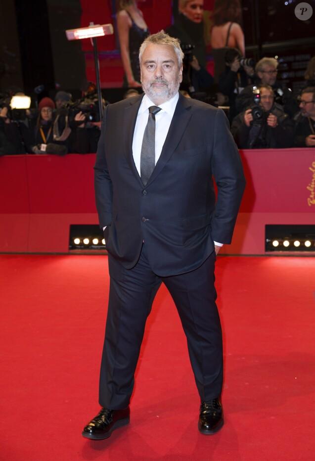 """Luc Besson - Avant-première du film """"Eva"""" lors du 68ème festival du film de Berlin, La Berlinale, le 17 février 2018."""