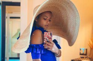Christina Milian enceinte : elle affiche son ventre rond en maillot de bain