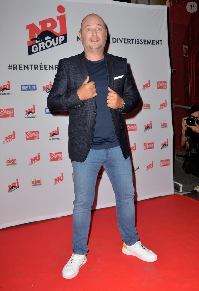 Sébastien Cauet - Conférence de rentrée du Groupe NRJ au théâtre des Folies Bergère à Paris, le 16 septembre 2019. © Veeren/Bestimage